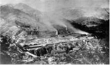 extinct Ashio Copper Mine